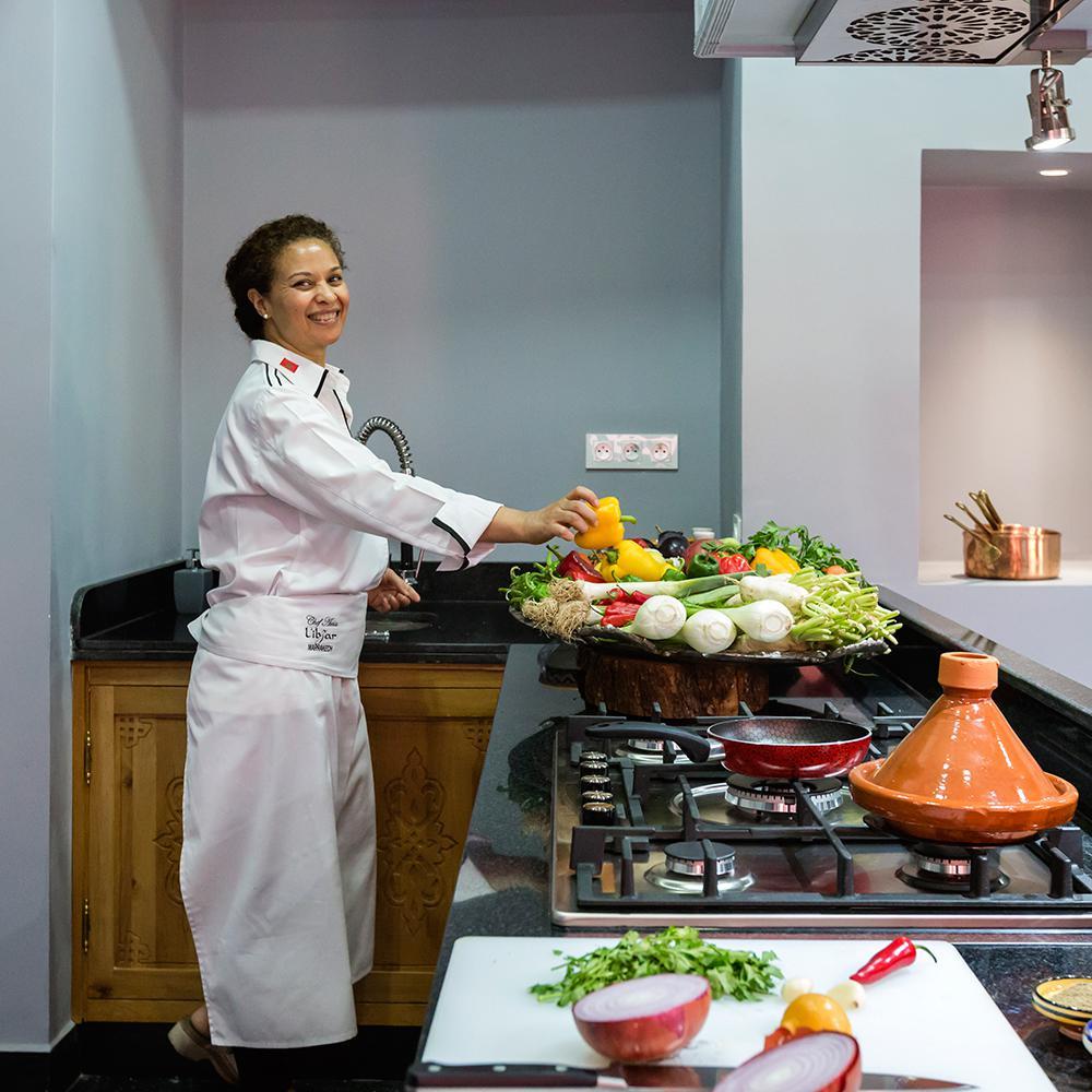 Cooking Workshop In Marrakech Moroccan Restaurant Libzar